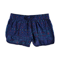Dotted Geo Print Dolphin Shorts (Kids)