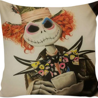 Jack Mad Hatter Couch Pillow
