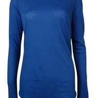 Polo Ralph Lauren Women's Long Sleeves Knit Slouchy Shirt