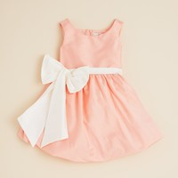 US Angels Toddler Girls' Oversized Bow Bubble Dress - Sizes 2T-4T | Bloomingdale's