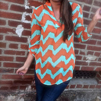 Caribbean Colors Tunic | The Rage