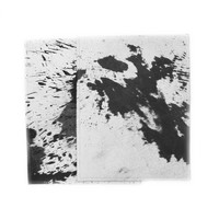 Distressed Cowhide Placemat