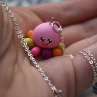 Of Mice & Men - Cute Rainbow Squidgy Necklace