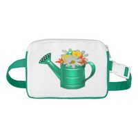 Floral Watering Can Fanny Pack