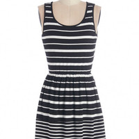 ModCloth Sleeveless A-line Sundial Be There Dress