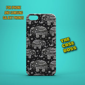 ELEPHANTS ON PARADE Design Custom Phone Case for iPhone 6 6 Plus iPhone 5 5s 5c iphone 4 4s Samsung Galaxy S3 S4 S5 Note3 Note4 Fast!