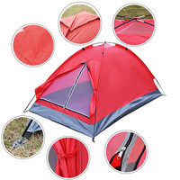 Water Resistant Double Layer 2 Person Tent Dome