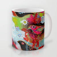 small song birds Mug by Randi Antonsen