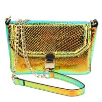 Luxury Handbags Women Bags Designer Women Messenger Bag Laser Holographic Bags Crossbody Chain Bag High Quality 2 colors-in Crossbody Bags from Luggage & Bags on Aliexpress.com   Alibaba Group