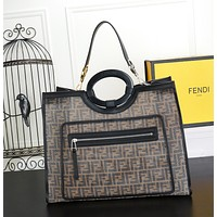 Top Quality Fendi Women Leather Tote Bag Shoulder Bag Messenger Bag Shopping Bag