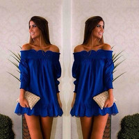 New Fashion Summer Sexy Women Dress Casual Dress for Party and Date = 4458441348