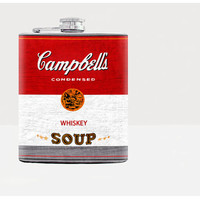 Campbell Soup - whiskey Flask - Hip flask - Stainless steel flask - Andy Warhol - 7oz flask - 21men - flask - drinks - urban - 21st