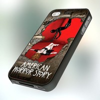 PCFA80 American Horror Story Design For iPhone 5 Black Case