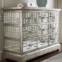 """John-Richard Collection """"Gatsby"""" Mirrored Chest - Horchow"""