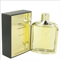 Jaguar Classic Gold by Jaguar Eau De Toilette Spray 3.4 oz for Men