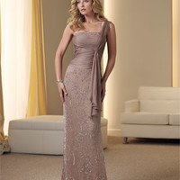 Mother of the Bride Dresses – Montage by Mon Cheri 111914 One Shoulder