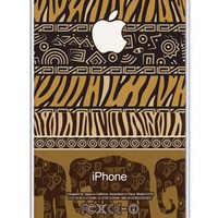 iZERCASE Africa Elephant Pattern Rubber iphone SE case - Fits iphone SE, iPhone 5S T-Mobile, Verizon, AT&T, Sprint and International