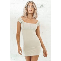 We Mesh Well Off The Shoulder Dress