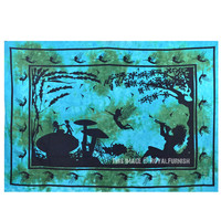Small Fairy Land Tapestry Wall Hanging on RoyalFurnish.com