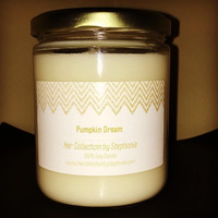 Pumpkin Dream Soy Candle