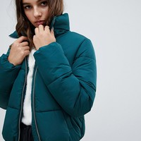 JDY short padded jacket at asos.com