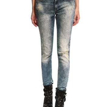 Sienna Distressed & Ripped Skinny Jeans