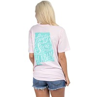 Love Me Some Alabama Tee in Pink by Lauren James