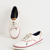 Menswear Inspired Keds Truth of the Batter Sneaker by Keds from ModCloth