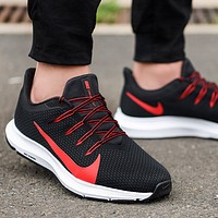 Nike Quest 3.0 New fashion hook print running shoes men Black