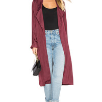 Lovers + Friends x REVOLVE Jackson Duster in Wine | REVOLVE