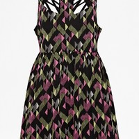 Woven Party Dress