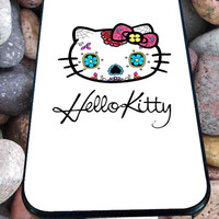 Hello Kitty Sugar Skull for iPhone 4/4s, iPhone 5/5S/5C/6, Samsung S3/S4/S5 Unique Case *76*