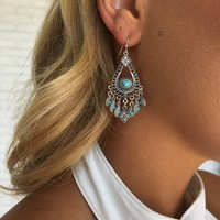 Maya Turquoise Earrings