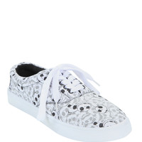 The Nightmare Before Christmas Printed Face Lace-Up Sneaker