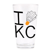 I (Shuttlecock) KC Pint Glass