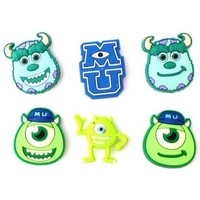 14 Monsters University Shoe Charms for Fits Croc Shoes & Bracelet Wristband Kids Party Birthday Gifts