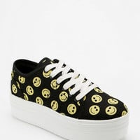 Cute To The Core Blyke Smiley Flatform-Sneaker