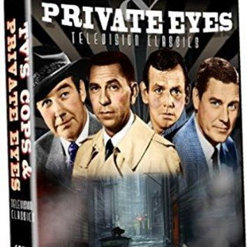 Broderic Crawford & Charles Bronson & n/a TV's Cops: Private Eyes - Over 8 Hours of Television Classics! 19 Episodes!
