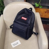 School Backpack trendy CIKER College New Fashion Backpack Casual Solid School Bag Laptop Backpack Computer Bag High Quality Nylon Backpack For Teenager AT_54_4