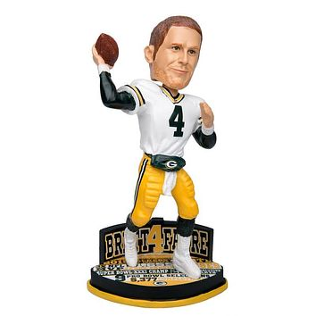 Brett Favre Green Bay Packers NFL Bobblehead by Forever Collectibles