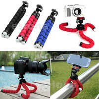 Mini Portable Octopus Flexible Tripod Holder Mount Stand For Camera Mobile Phone