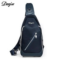 High Quality Oxford Men Chest Bags Brand Cross Body Bags Messenger Package Bags For Men Shoulder Casual Back Pack