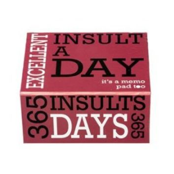 Insult a Day Board Game
