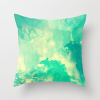Underwater Throw Pillow by Galaxy Eyes   Society6