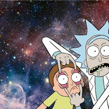 Free shipping,Rick And Morty,Poster HD HOME WALL Decor Custom ART PRINT Silk Wallpaper unframed -264