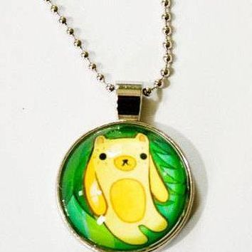 SALE: Bear Charm Necklace