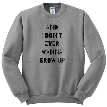 """Shawn Mendes """"Kid in Love - And I Don't Ever Wanna Grow Up"""" Crewneck Sweatshirt"""