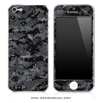 Digital Camo V1 iPhone Skin