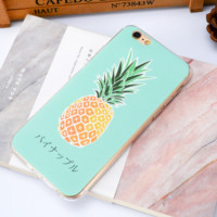 The New Lovely Fresh Pineapple Iphone Protective Case + Nice Gift Box