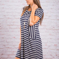 Everything I've Wanted Dress, Navy